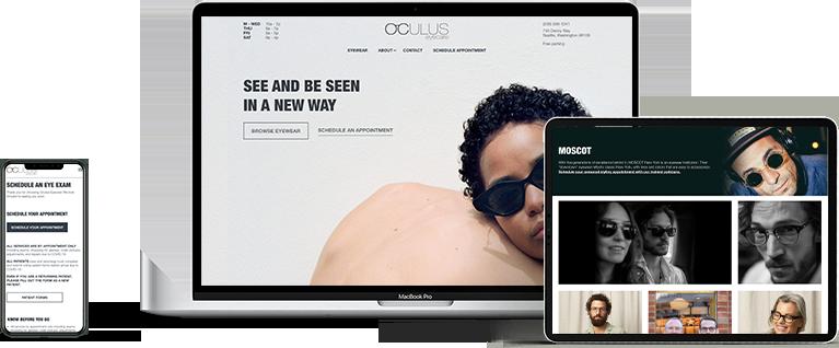 Oculus Eyecare header image